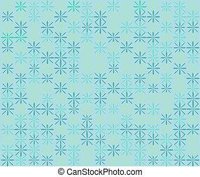 Floral blue background