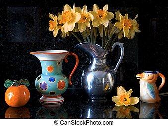 floral, bodegón