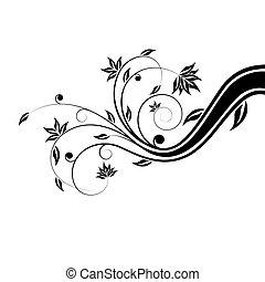 floral, boekrol