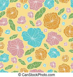 Floral botany pattern