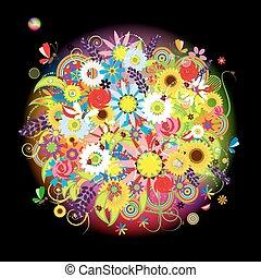 Floral bouquet beautiful for your design