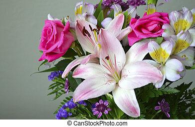 Floral bouquet.