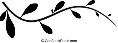 floral branch a