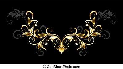 floral, cadre, or