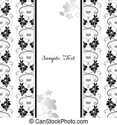 Floral Card background