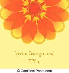 Floral Card - Summer