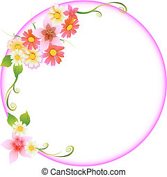 floral, casório, quadro