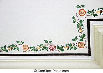 Floral Ceiling Design