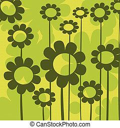 floral, composição