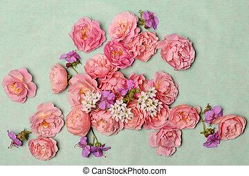 floral, composition