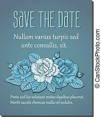 floral, convite