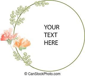 floral, copyspace