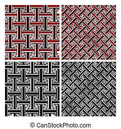 Floral Damask Wallpaper Pattern
