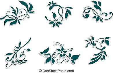 floral, decorações
