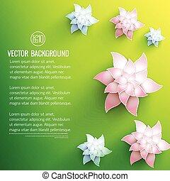 Floral Decorations Background