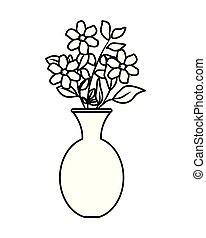 floral dekoráció, klasszikus, váza