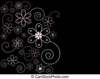 Floral design - Decorative floral design