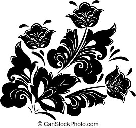 Floral design element - Abstract illustration