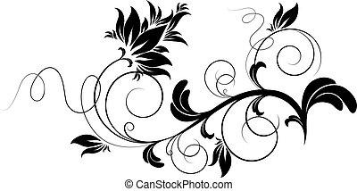 Floral design element