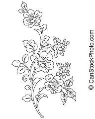 Floral-Design element