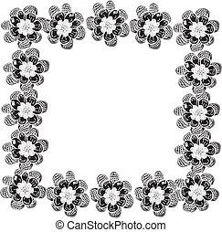 floral design frame