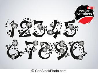 floral design numbers