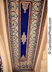 Floral Design on Ceiling