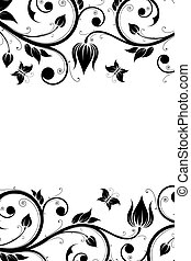 Floral Design Ornament
