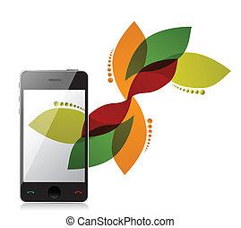 floral design phone design