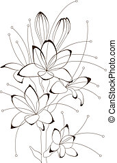 floral design, vector illustration