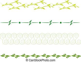 floral dividing line