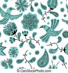 Floral Doodles Pattern 2