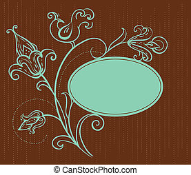 floral dundoek