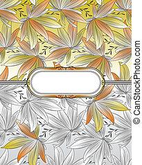 floral dundoek, zich verbeelden