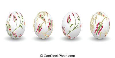 easter, eggs
