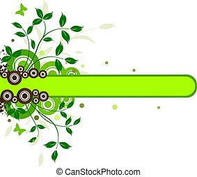 Floral ecology background