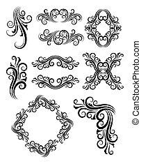 Floral Element Decorations