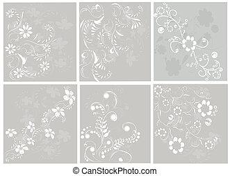 floral entwurf, elemente
