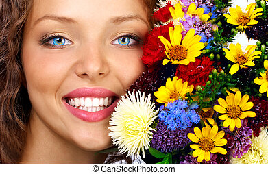 floral, felicidade