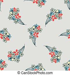 floral flavor pattern