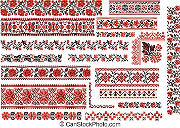 Floral for Embroidery Stitch