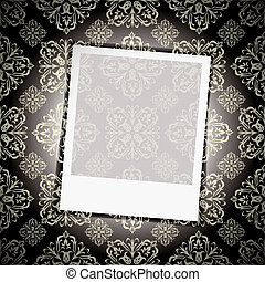 floral, foto, behang, moment