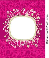 Floral frame - 5