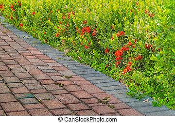 Floral Garden Detail View
