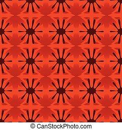 Floral geometric pattern seamless