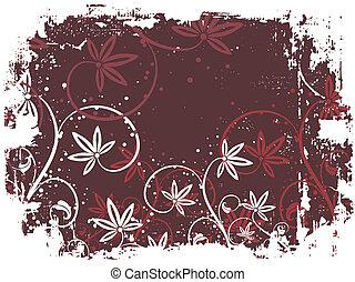 Floral grunge