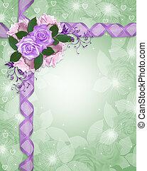 floral határ, levendula, agancsrózsák