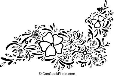 floral határ