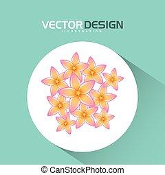 floral icon design