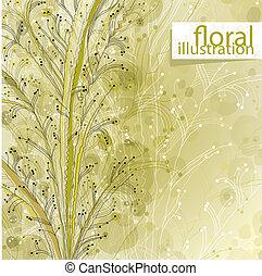 Floral illustration.